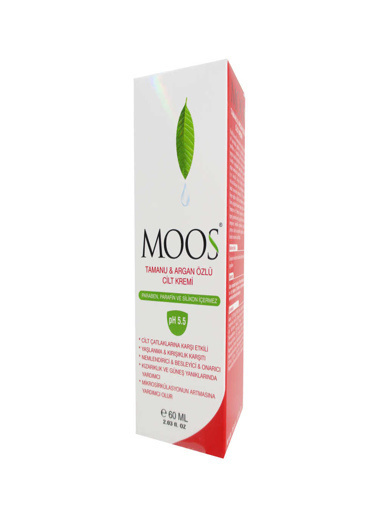Moos Moos Tamanu and Argan Oil Skin Cream 60ml Renksiz